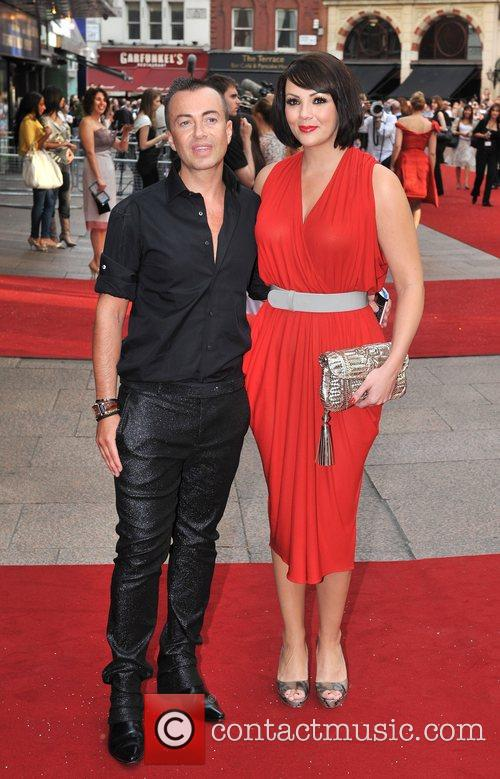 Julien McDonald and Martine McCutcheon UK film premiere...