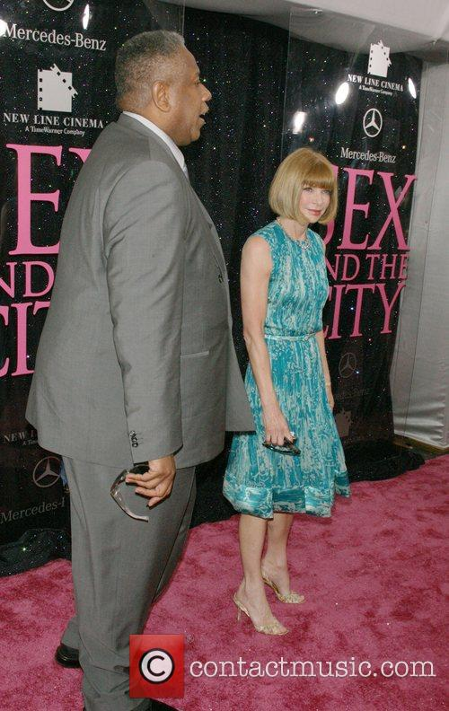 Andre Leon Talley and Anna Wintour US premiere...