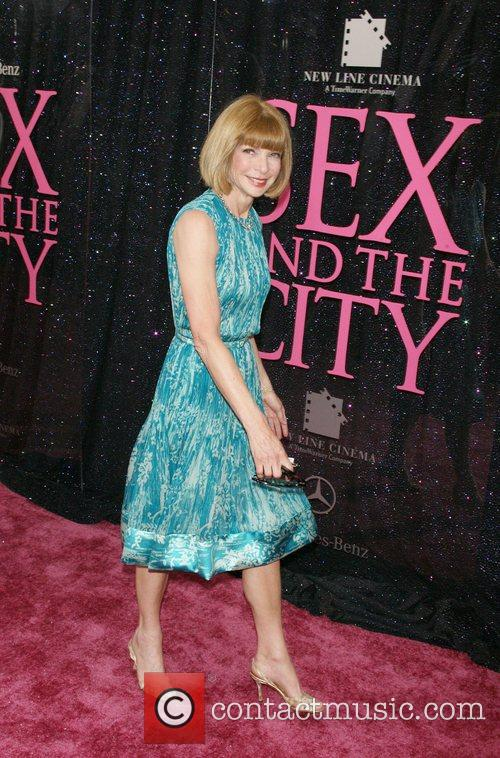 Anna Wintour US premiere of 'Sex and the...
