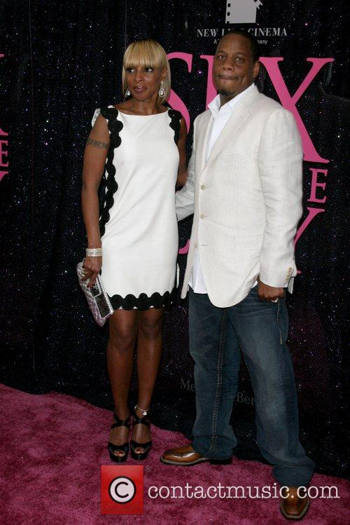 Mary J. Blige and Kendu Isaacs US premiere...
