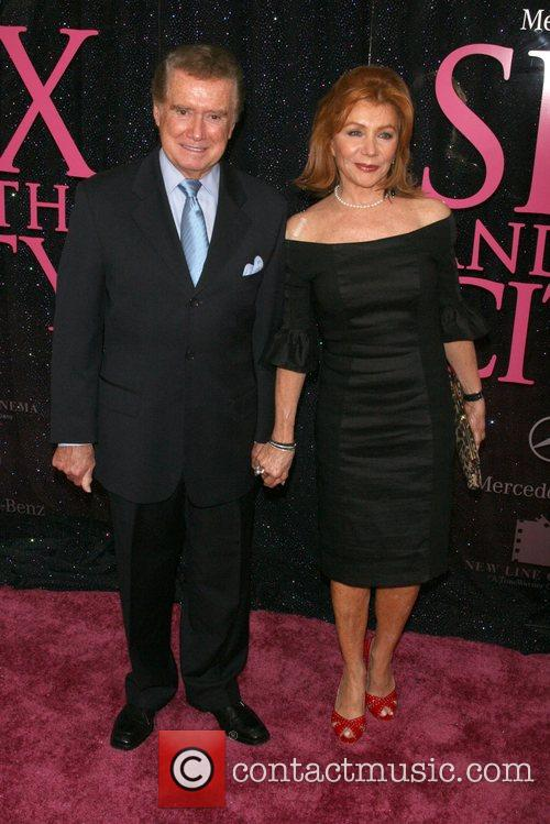 Regis Philbin and Joy Philbin US premiere of...