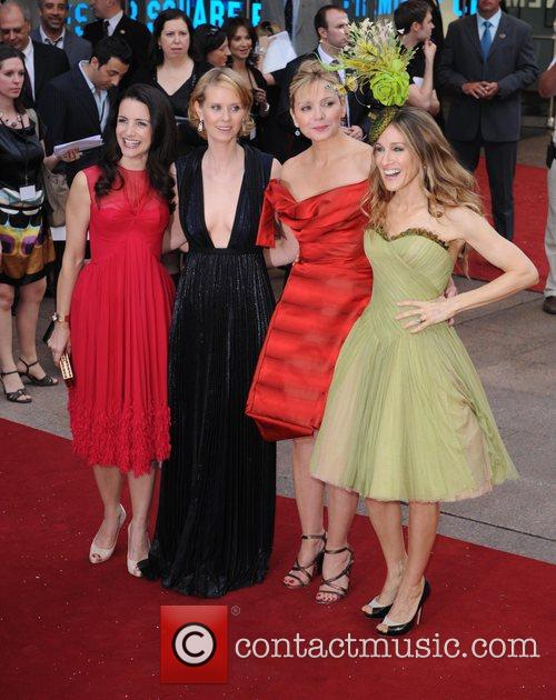 Kristin Davis, Cynthia Nixon, Kim Cattrall, Sarah Jessica Parker and Sex And The City 10