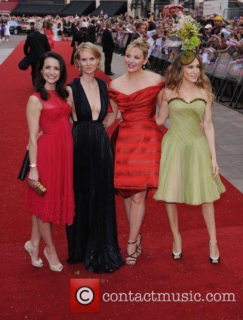 Kristin Davis, Cynthia Nixon, Kim Cattrall, Sarah Jessica Parker and Sex And The City 8