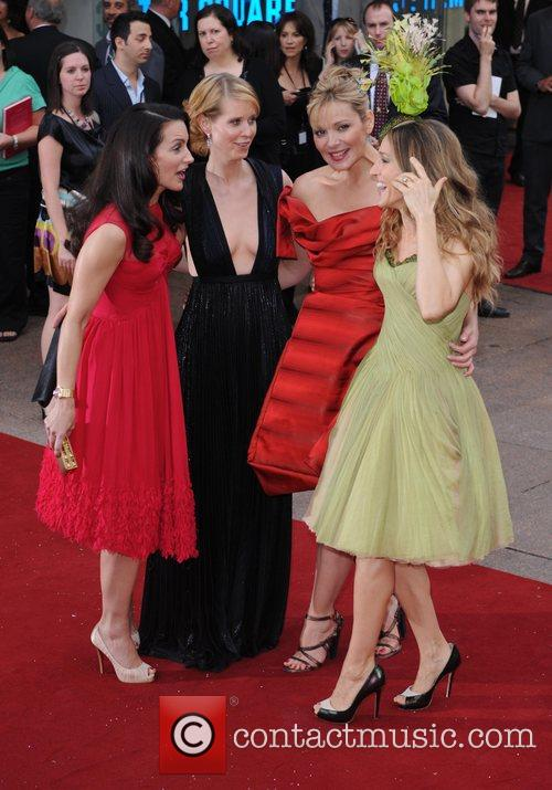 Kristin Davis, Cynthia Nixon, Kim Cattrall, Sarah Jessica Parker and Sex And The City 9