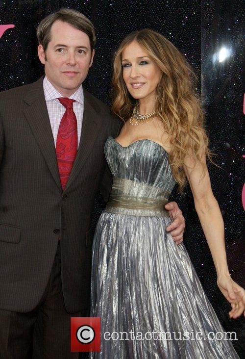 Matthew Broderick and Sarah Jessica Parker US premiere...