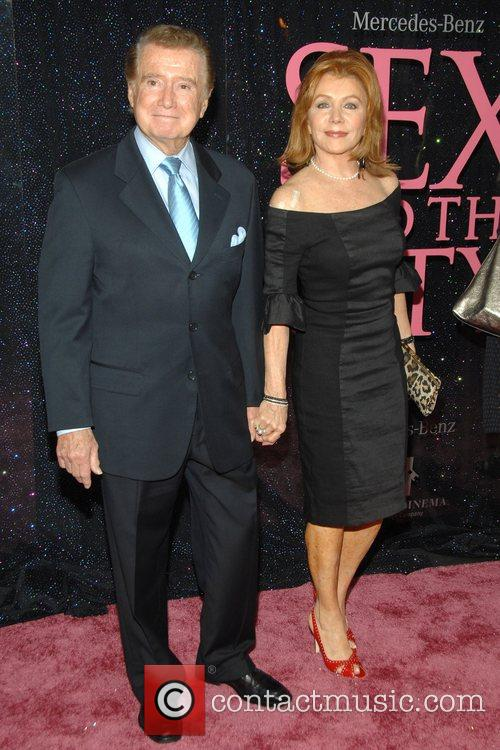 Regis and Joy Philbin US premiere of 'Sex...