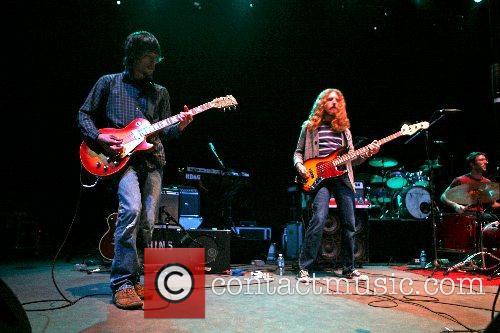The Shaky Hands in concert at Santa Barbara...