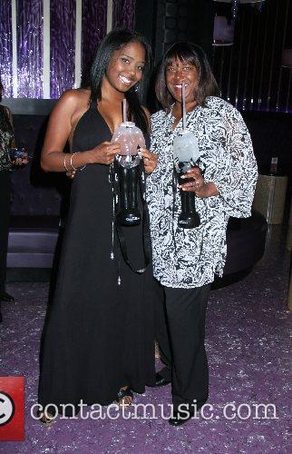 Shar Jackson and her mother attend a Chippendales...