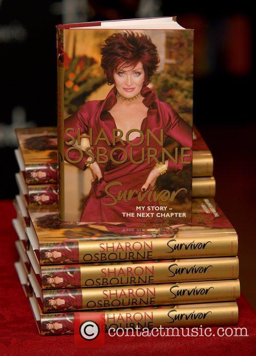 Sharon Osbourne signing copies of her autobiography 'Survivor:...