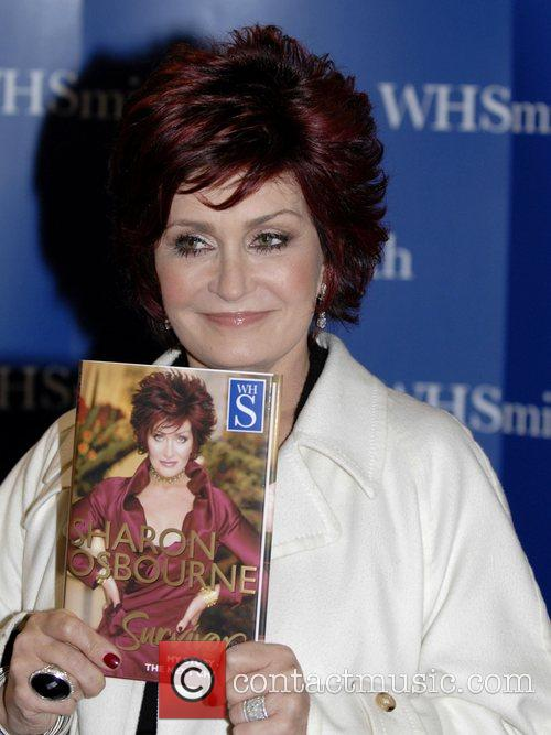 Sharon Osbourne at the book signing for her...