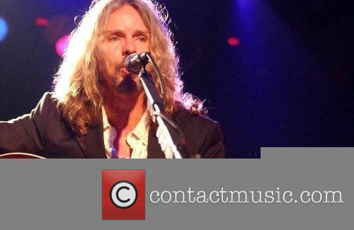 Styx band member Tommy Shaw performing live at...
