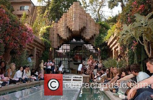 Atmosphere Los Angeles designer Shay Todd presenting the...