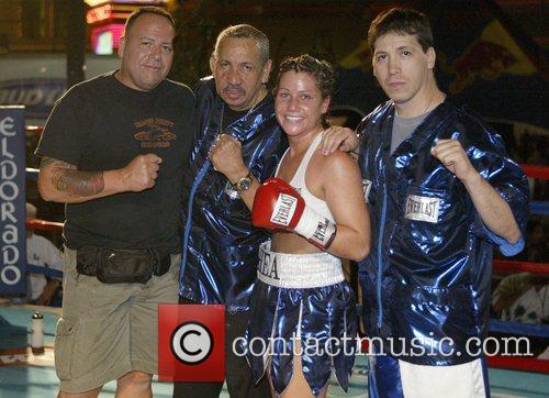 Olivia Gerula, of Winnipeg, Canada vs. Maureen Shea,...