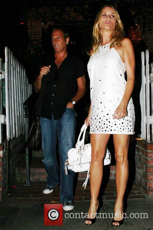 Michael Bolton and Nicolette Sheridan Leaving The Ivy Restaurant 6