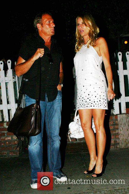 Michael Bolton and Nicolette Sheridan Leaving The Ivy Restaurant 8