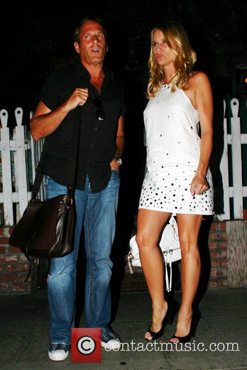 Michael Bolton and Nicolette Sheridan Leaving The Ivy Restaurant 2