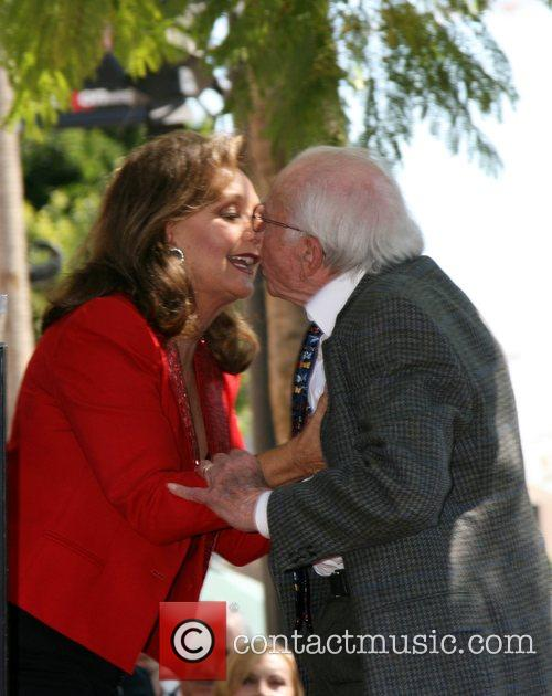 Dawn Wells and Sherwood Schwartz
