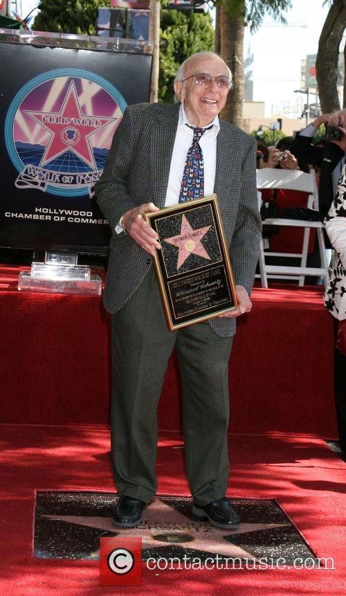 Sherwood Schwartz Receives A Star On The Hollywood Walk Of Fame 1