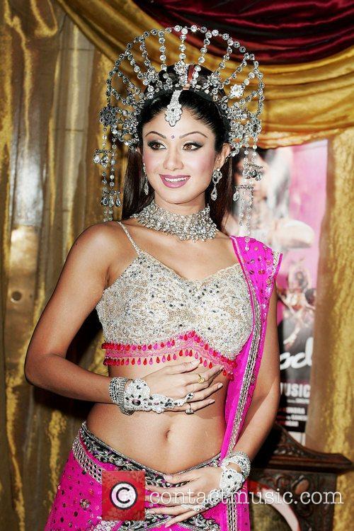 Shilpa Shetty  promotes 'Miss Bollywood' at Kempinski...