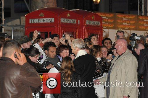 Charlie Watts of The Rolling Stones UK premiere...