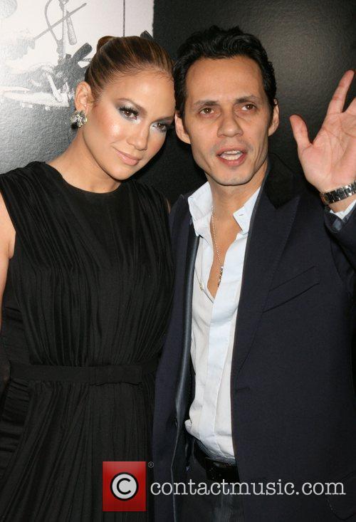 Jennifer Lopez and Marc Anthony New York Premiere...