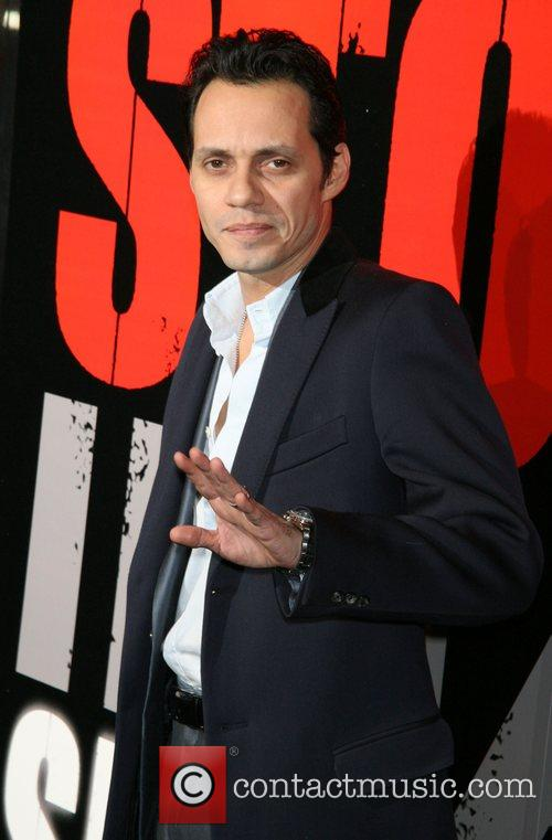 Marc Anthony New York Premiere of 'Shine a...