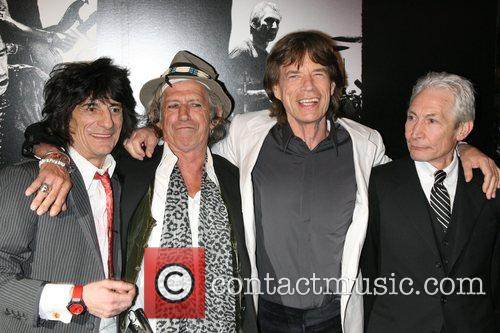 Ronnie Wood, Charlie Watts, Keith Richards and Mick Jagger 4