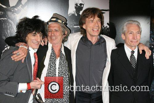 Ronnie Wood, Charlie Watts, Keith Richards and Mick Jagger 3