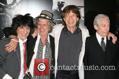 Ronnie Wood, Charlie Watts, Keith Richards and Mick Jagger 1