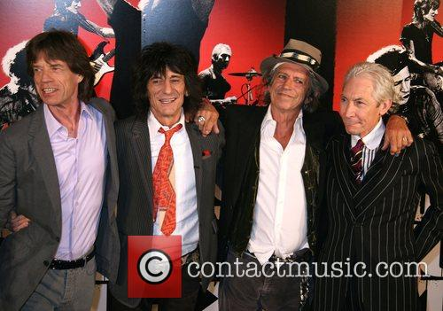 Rolling Stones, Keith Richards, Martin Scorsese, Mick Jagger and The Rolling Stones 2