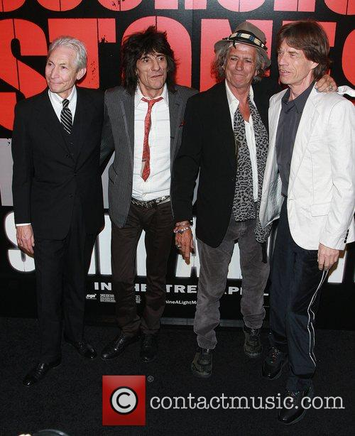 Rolling Stones, Charlie Watts, Keith Richards, Ronnie Wood and The Rolling Stones 4