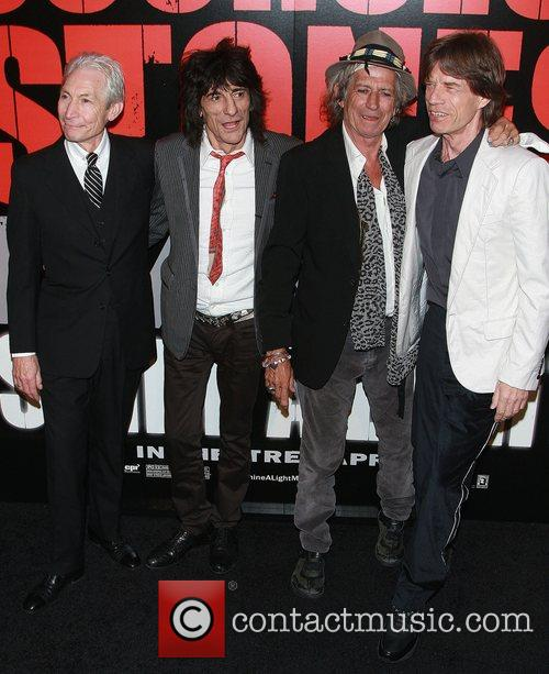 Rolling Stones, Charlie Watts, Keith Richards, Ronnie Wood and The Rolling Stones 1