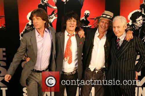 Mick Jagger, Charlie Watts, Keith Richards, Rolling Stones, Ronnie Wood and The Rolling Stones 8