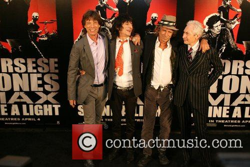 Mick Jagger, Charlie Watts, Keith Richards, Rolling Stones, Ronnie Wood and The Rolling Stones 11