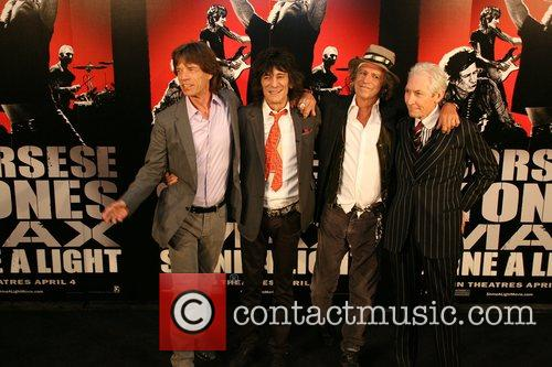 Mick Jagger, Charlie Watts, Keith Richards, Rolling Stones, Ronnie Wood and The Rolling Stones 9