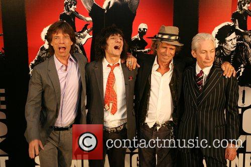 Mick Jagger, Charlie Watts, Keith Richards, Rolling Stones, Ronnie Wood and The Rolling Stones 10