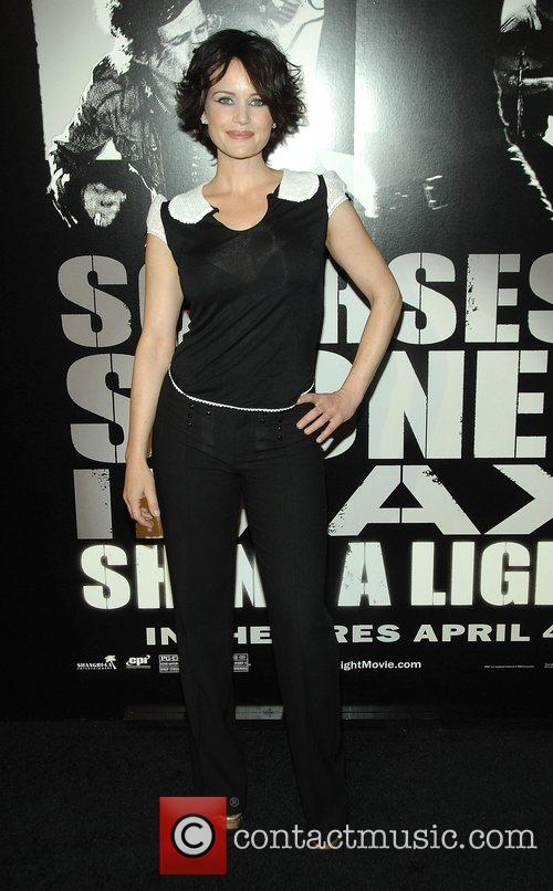 At the New York Premiere of 'Shine a...