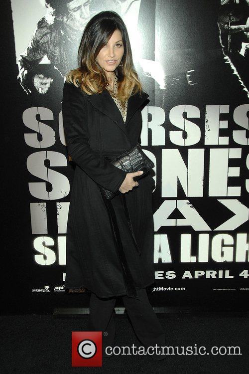 Gina Gershon at the New York Premiere of...