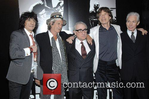 Keith Richards, Martin Scorsese and Mick Jagger 4