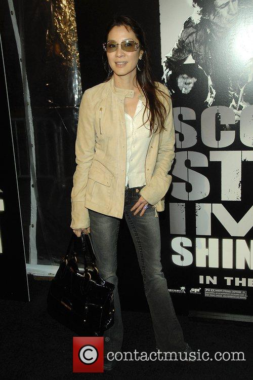Michelle Yeoh at the New York Premiere of...