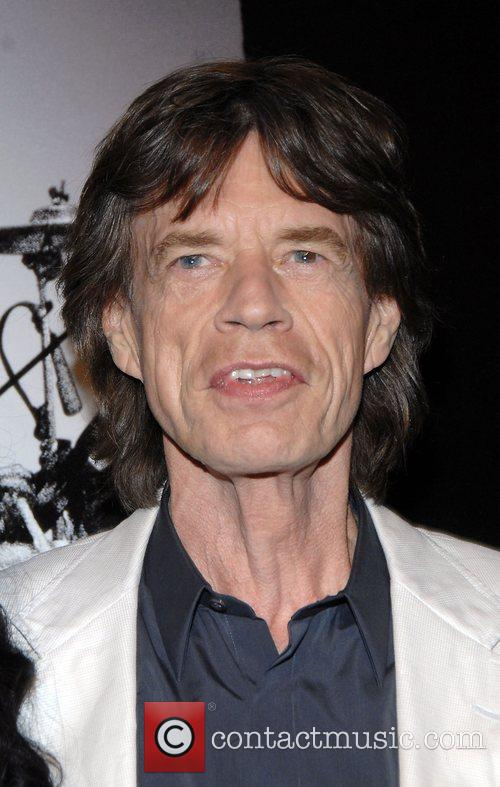 Mick Jagger at the New York Premiere of...