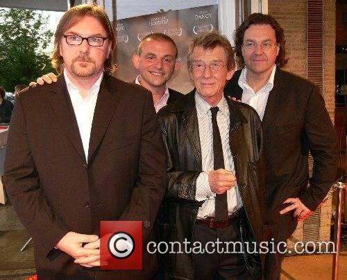 Michael Caton-Jones, Dominique Horwitz, John Hurt and Jens...