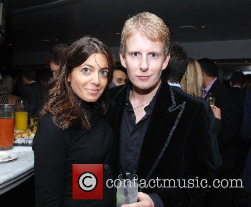 Patrick Kielty, Claudia Winkleman  at the launch...