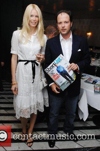 Claudia Schiffer, Matthew Vaughan  at the launch...