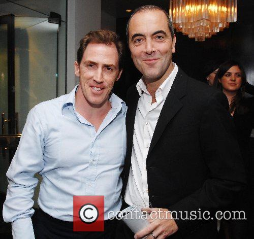 James Nesbitt, Rob Brydon at the launch of...