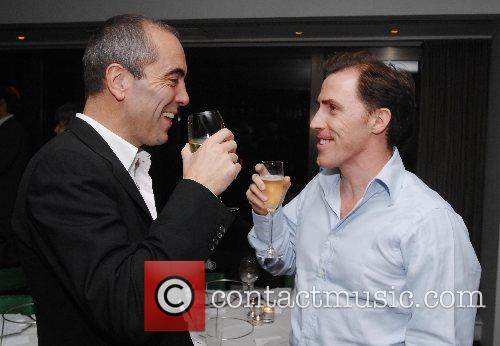 James Nesbitt and Rob Brydon  at the...