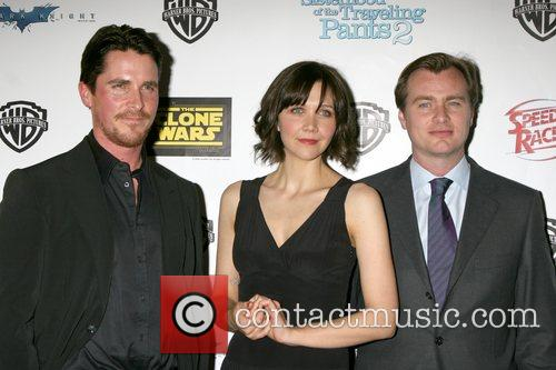 Christian Bale & Maggie Gyllenhaal, and Christopher Nolan...