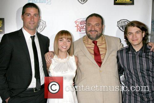 Matthew Fox, Christina Ricci, Joel Silver, and Emile...