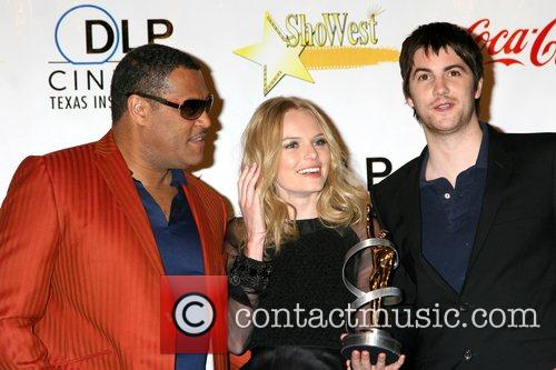 Laurence Fishburne, Kate Bosworth, and Jim Sturgess ShoWest...