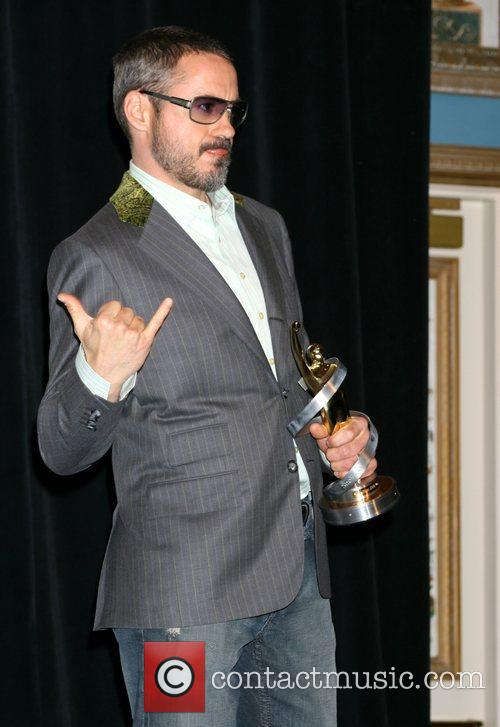 Robert Downey Jr. ShoWest 2008 Final Night Banquet...